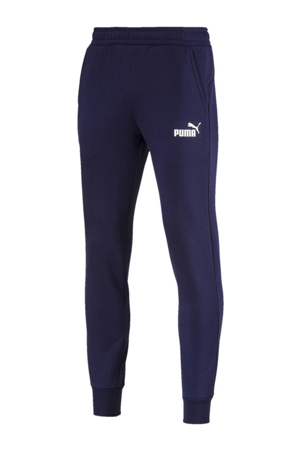 Puma 7/8 joggingbroek, Blauw/wit