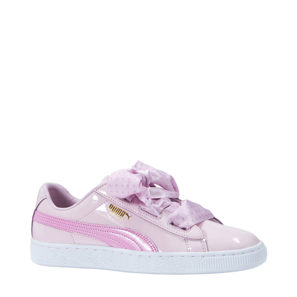 outlet store 8082a b77fd Puma Basket Heart Stars sneakers lila | wehkamp