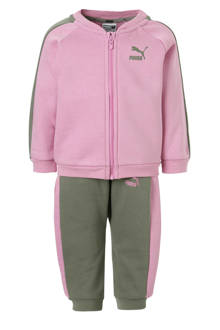 joggingpak roze/groen