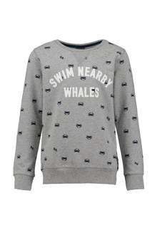 sweater met all over print Kilian