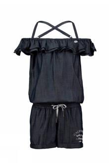 open shoulder jumpsuit met volant Famyna