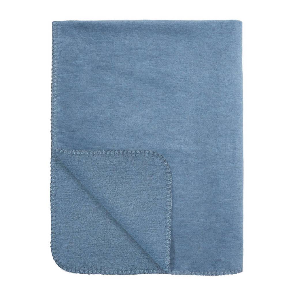 Meyco Uni ledikantdeken 100x150 cm jeans