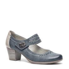 Softline klittenbandschoenen blauw