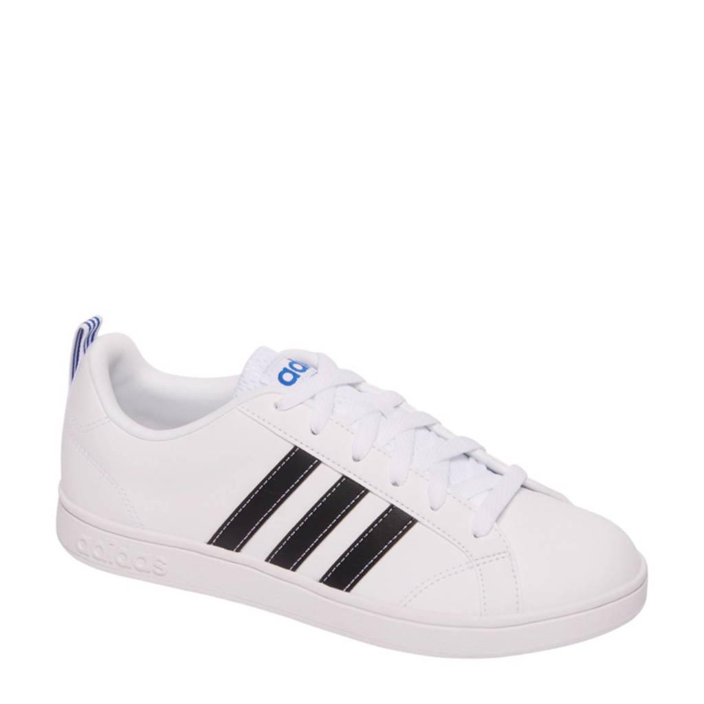 adidas  Advantage sneaker, Wit/zwart/blauw