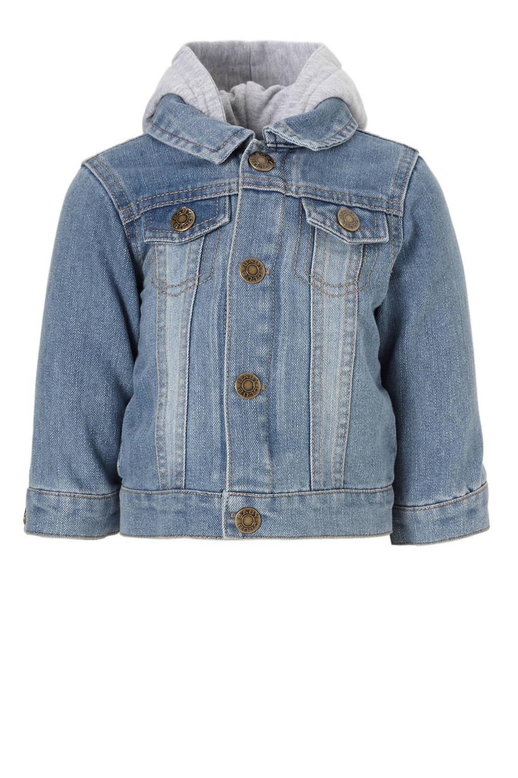 C&A Baby Club 2-in-1 spijkerjas, Blauw/grijs