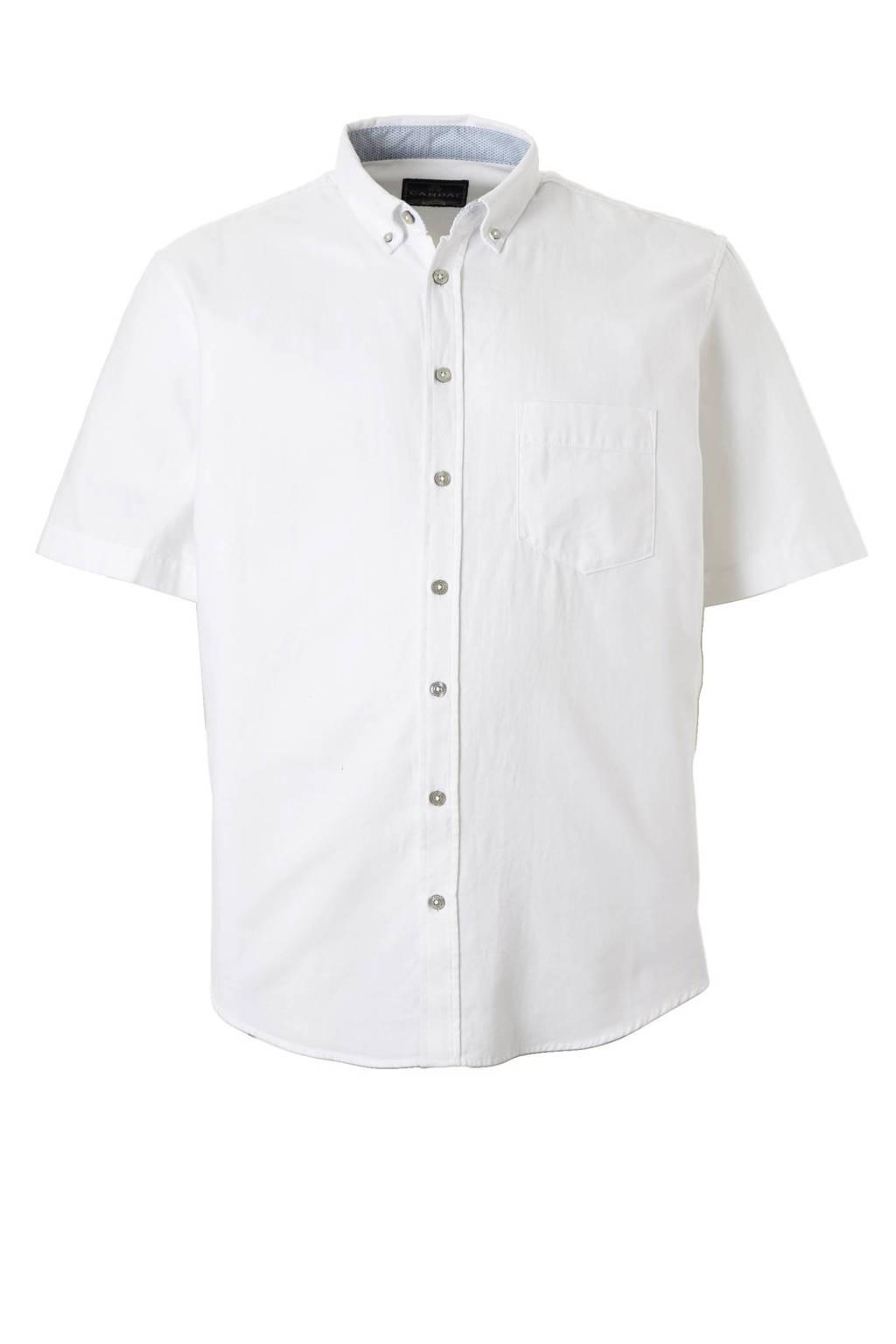 Overhemd Xl.C A Heren Xl Overhemd Met Korte Mouwen Wit Wehkamp