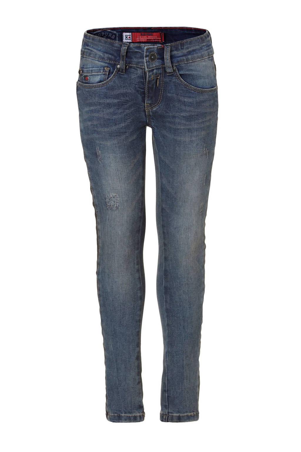 Blue Rebel Saphire ultra skinny fit jeans, Dawn wash