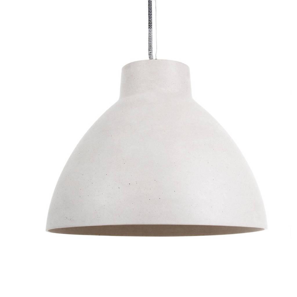 Leitmotiv hanglamp Sandstone, Wit