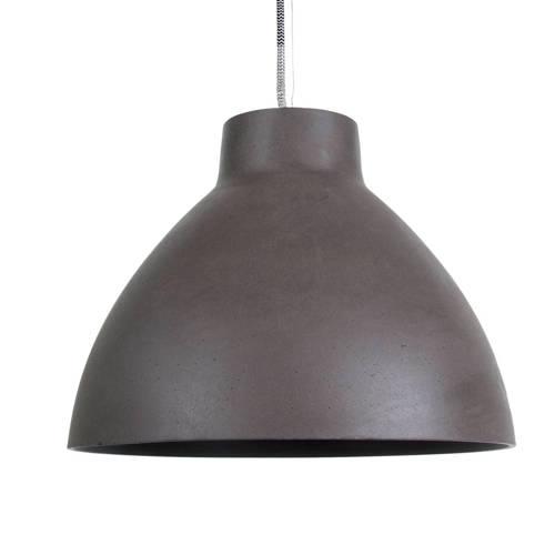 Hanglamp Sandstone Small Donkergrijs 34x27 E27 40W Leitmotiv