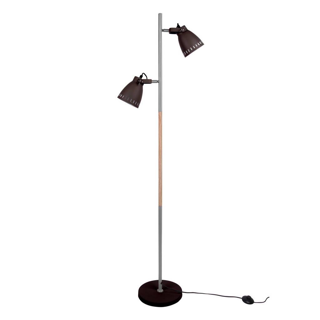 Leitmotiv vloerlamp Mingle, Zwart