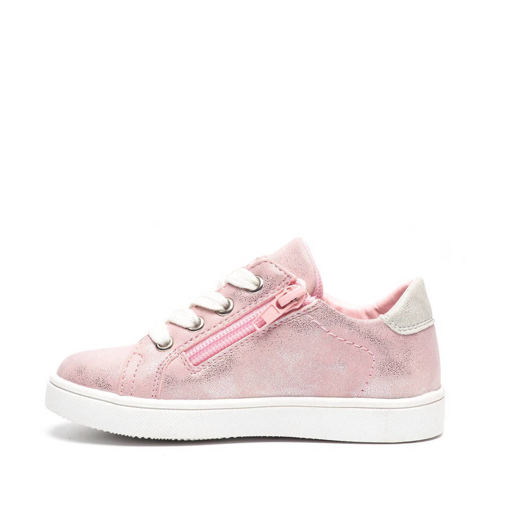 23b11ce009d Scapino Blue Box sneakers met ster, Roze/Zilver