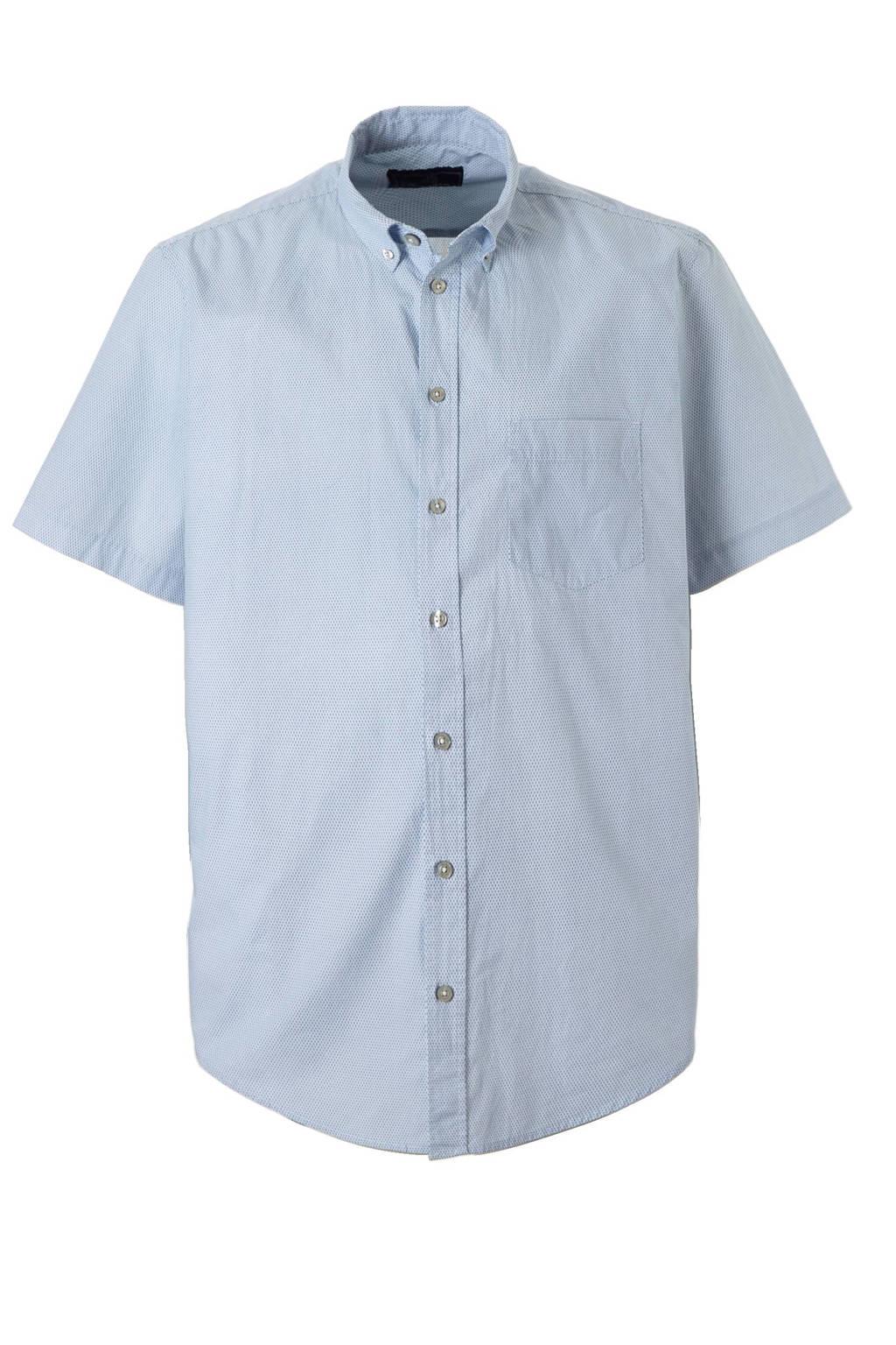Overhemd Xl.C A Heren Xl Overhemd Met Korte Mouwen Lichtblauw Wehkamp
