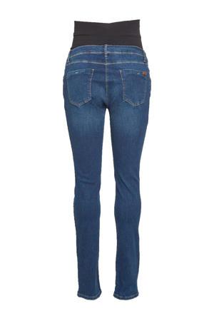 plus size positie skinny jeans medium blue denim