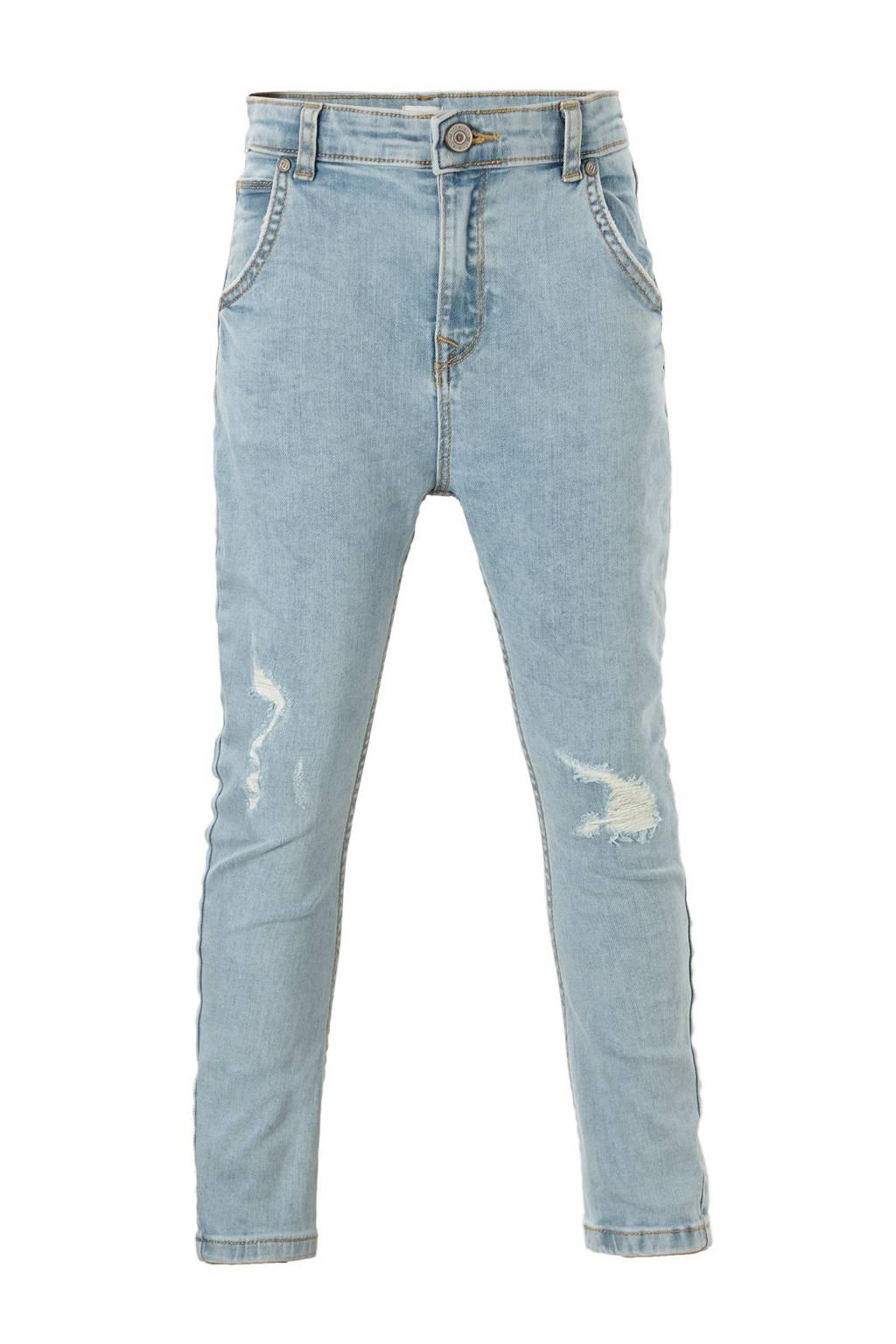 River Island jeans met slijtage details Tony, Lichtblauw