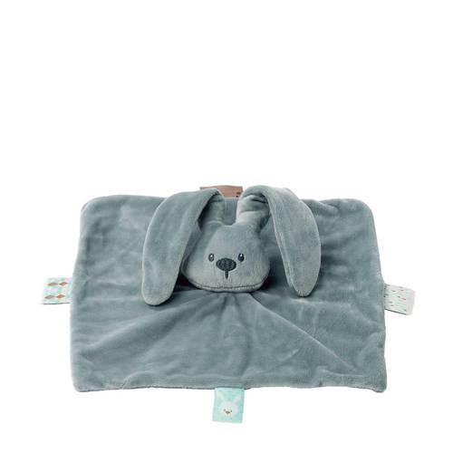 Nattou Lapidou vierkant groen knuffeldoekje kopen
