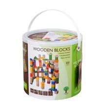 houten blokken 100 stuks