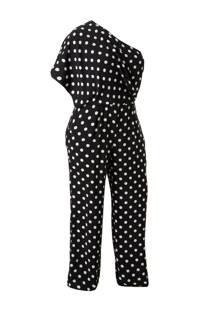 Violeta by Mango one shoulder jumpsuit met stippen (dames)