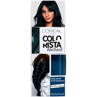 Coloration Colorista Washout 1-2 weken haarkleuring - Denim (Oil Silk)