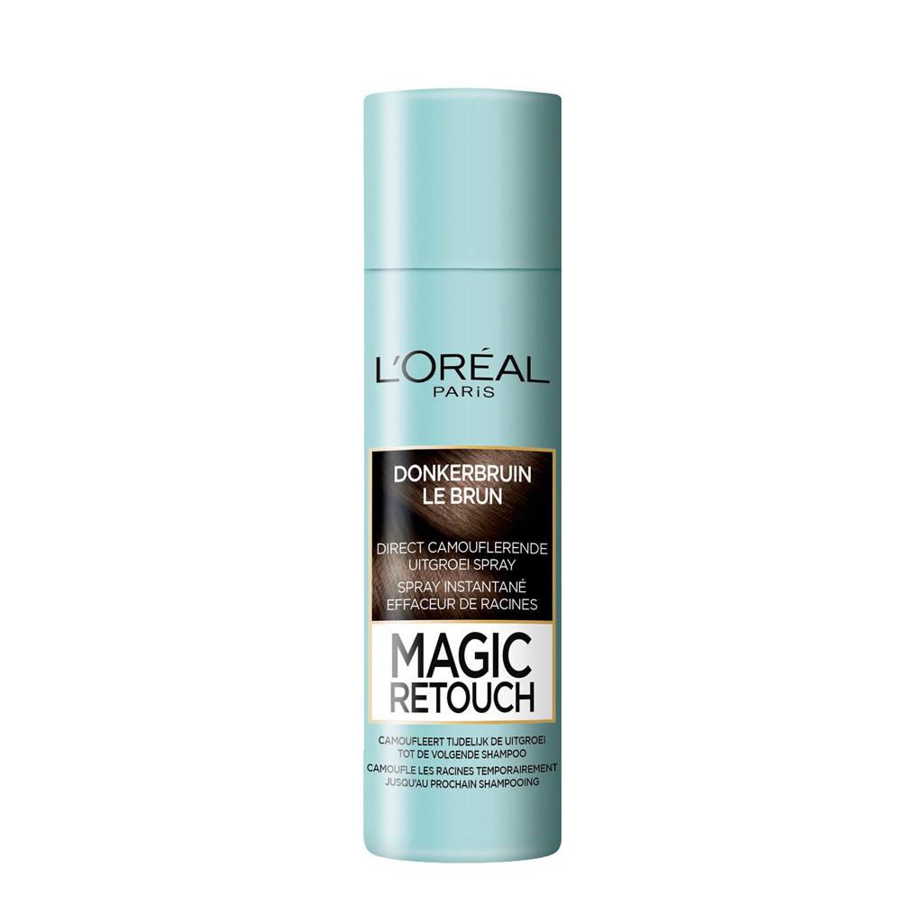 L'Oréal Paris Coloration Magic Retouch 2 - Donkerbruin - Uitgroei Camoufleerspray 150ml