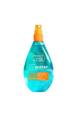 UV Water - Beschermende zonnebrandspray SPF20 - 150ml