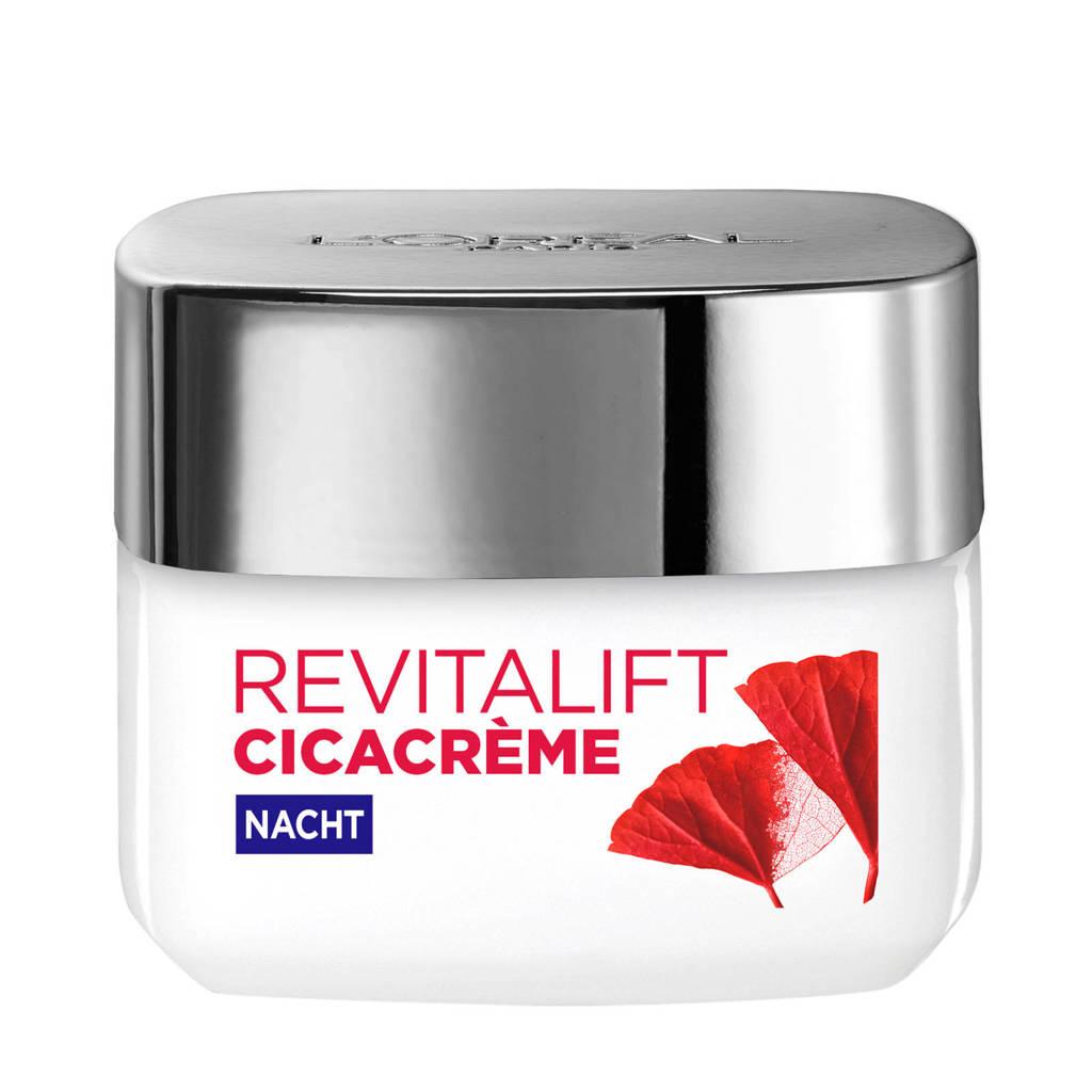 L'Oréal Paris Skin Expert Revitalift Cica Cream nachtcrème