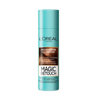 Coloration Magic Retouch 2 - Middenbruin- Uitgroei Camoufleerspray 150ml