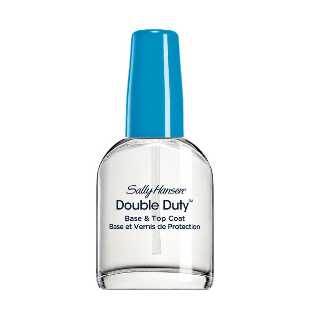Sally Hansen Double Duty Strengthening - topcoat, Transparant