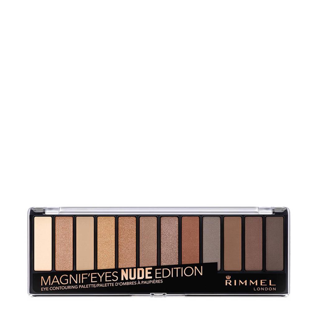 Rimmel London MagnifEyes eyeshadow - 1 Nudes Edition