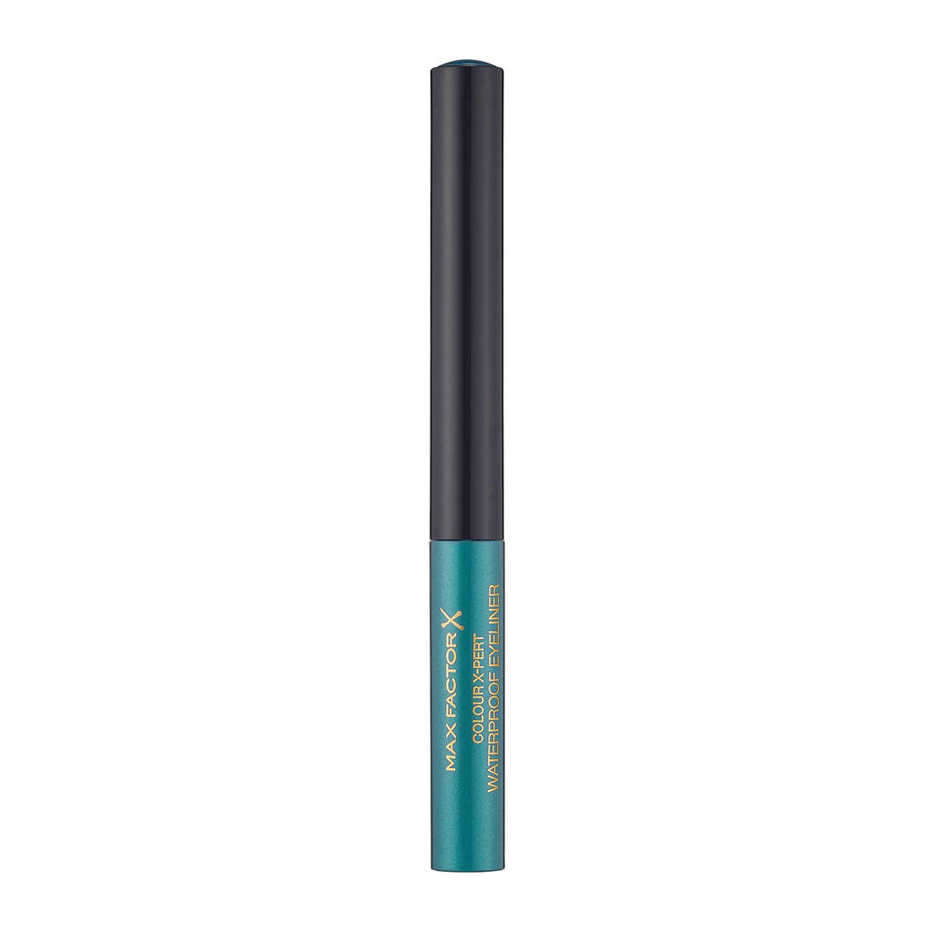 Max Factor Colour Expert waterproof eyeliner - metallic turquoise, 04 Metallic Turquoise