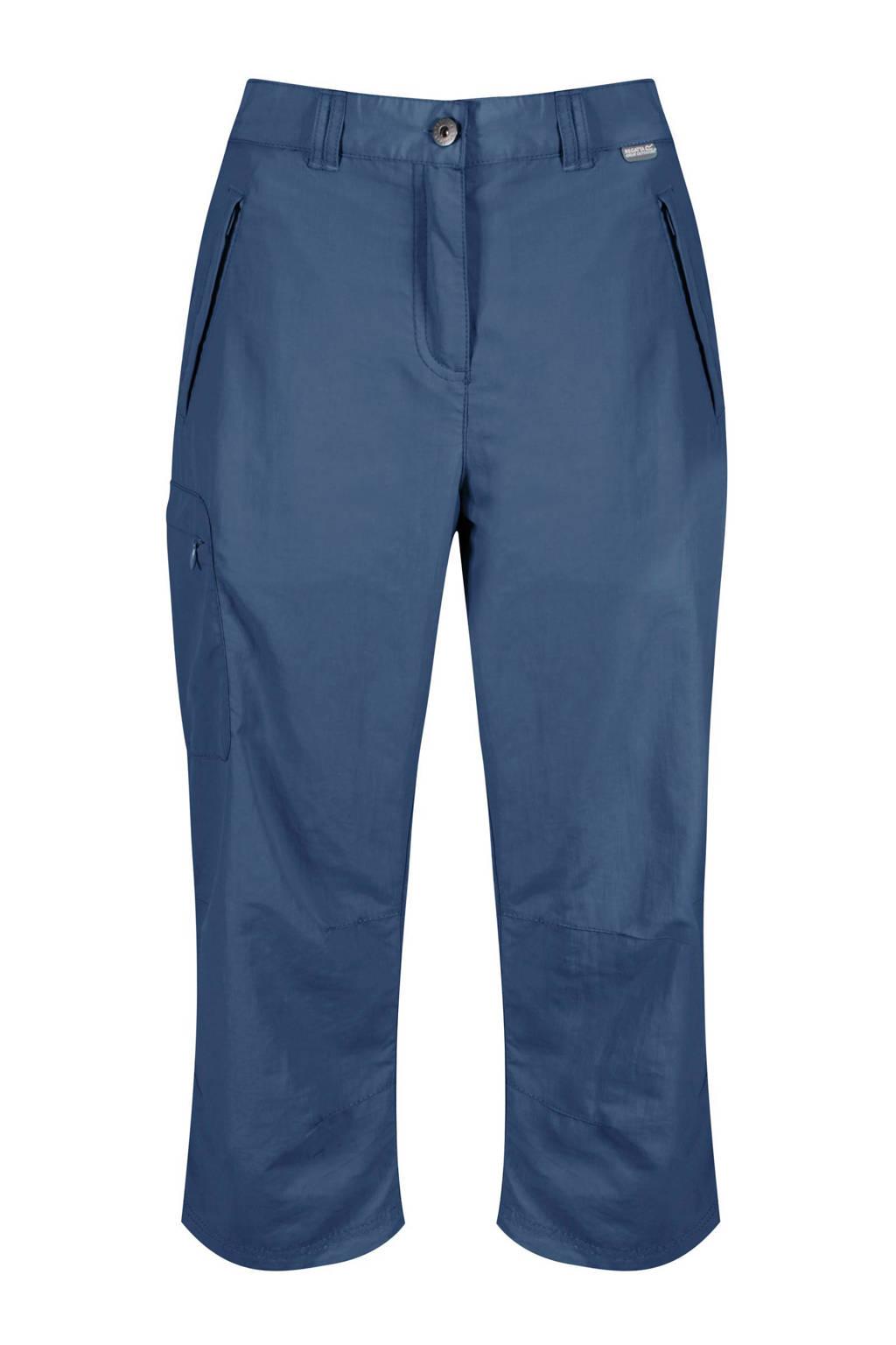 Regatta 7/8 outdoor broek Chaska blauw, Blauw