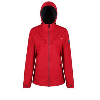 Jakeisha lichtgewicht outdoor jas rood