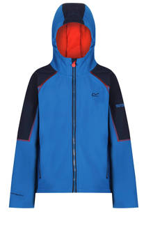 Acidity II softshell jack blauw