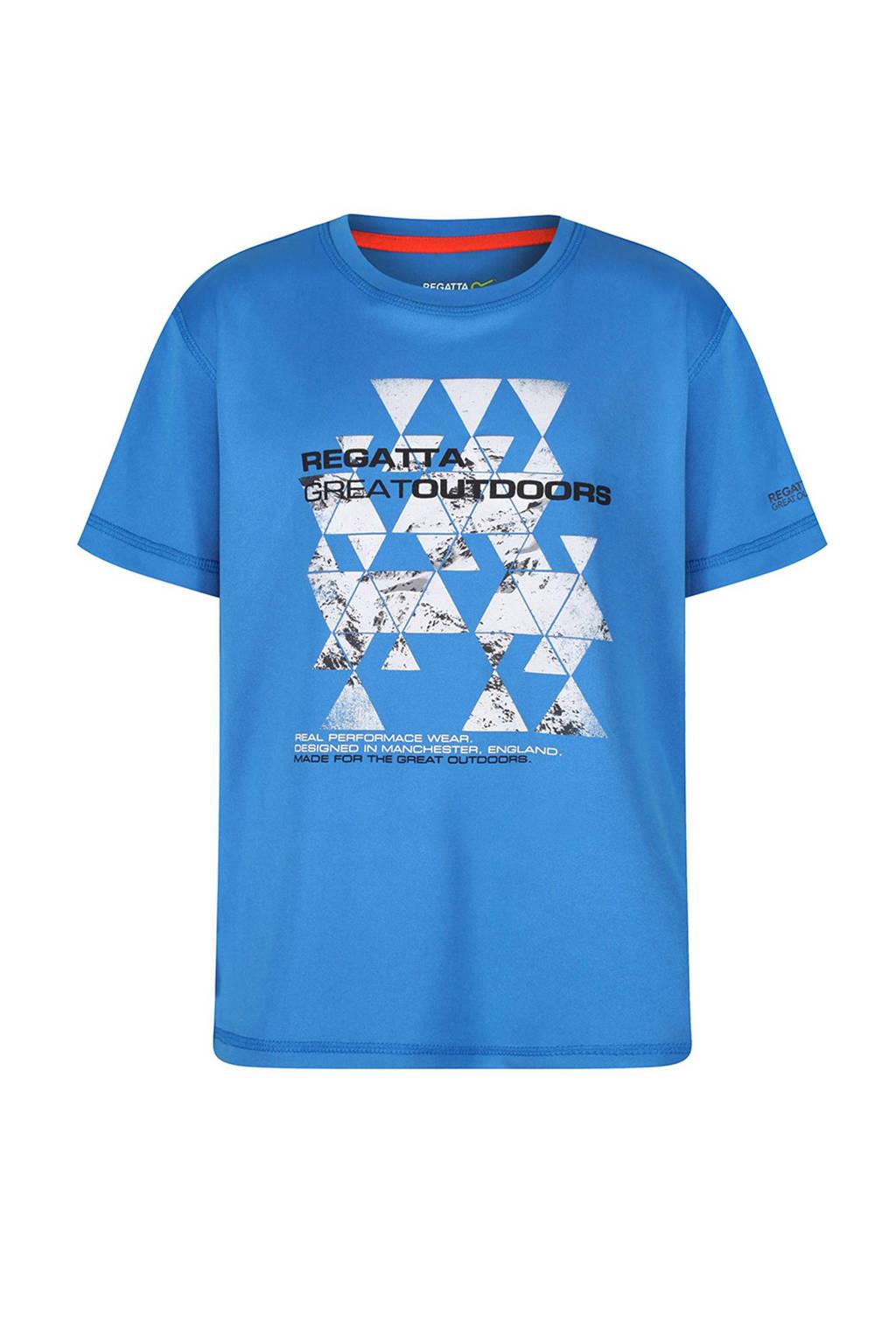 Regatta Alvarado outdoor T-shirt blauw, Blauw