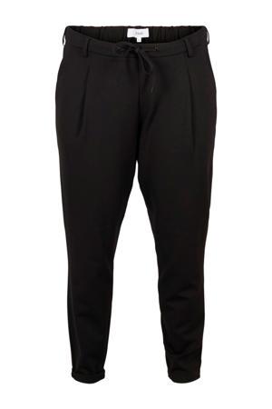 regular fit broek Maddison zwart