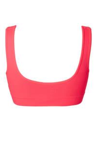 ONLY PLAY sportbh ONPMIRA, Neon roze/ grijs