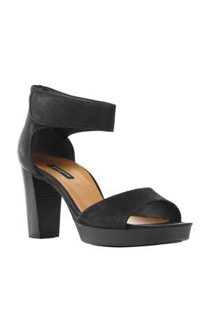 nubuck sandalettes
