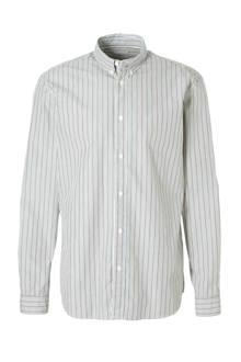 gestreept regular fit overhemd