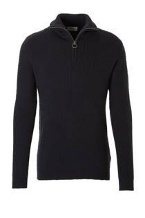 SELECTED HOMME trui met wol zwart (heren)