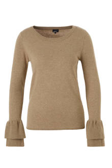 fijnbrei trui met rushes