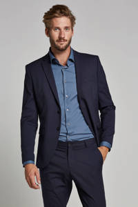 SELECTED HOMME My Logan slim fit colbert, Donkerblauw