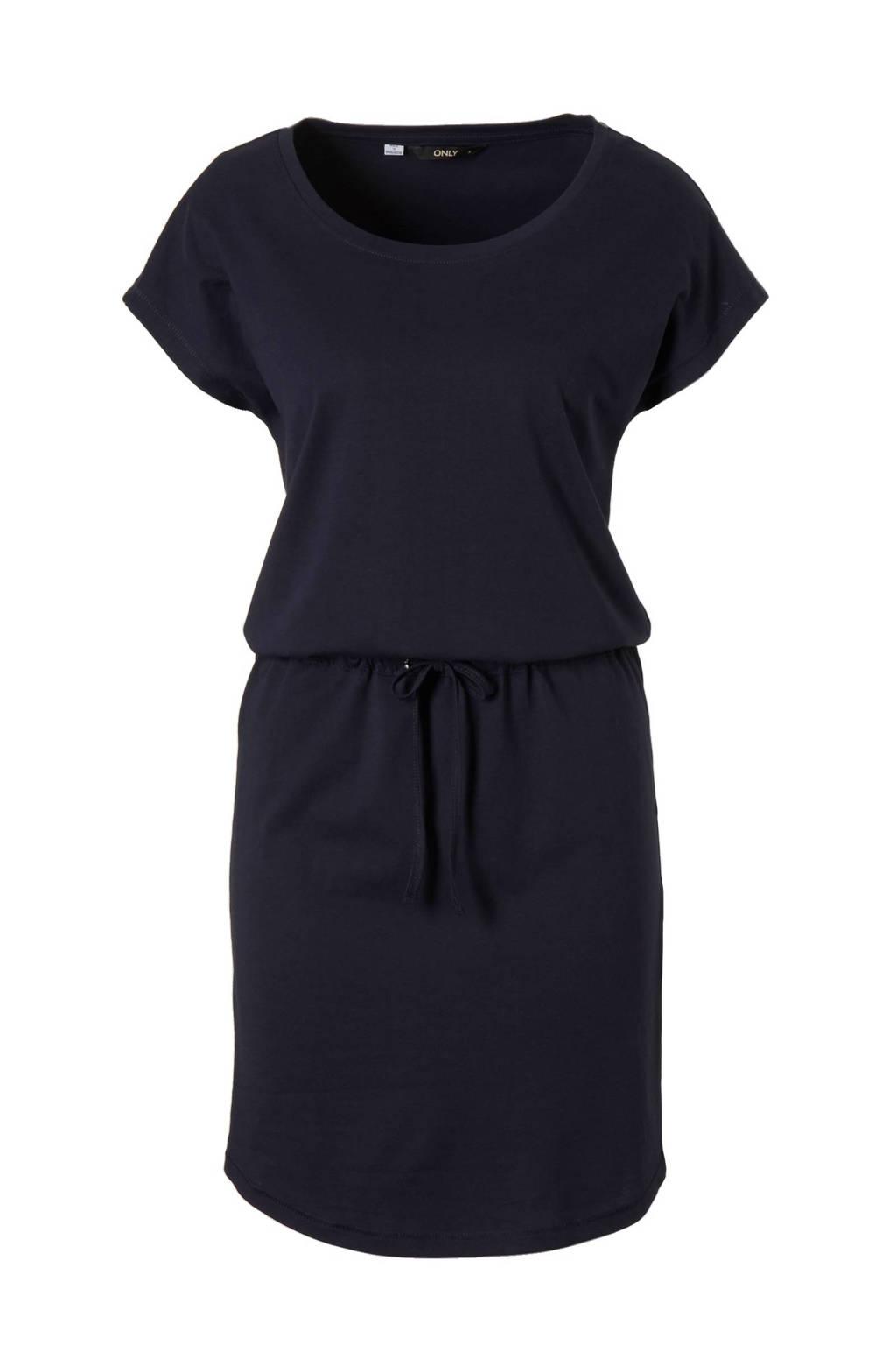 ONLY jurk, Donkerblauw