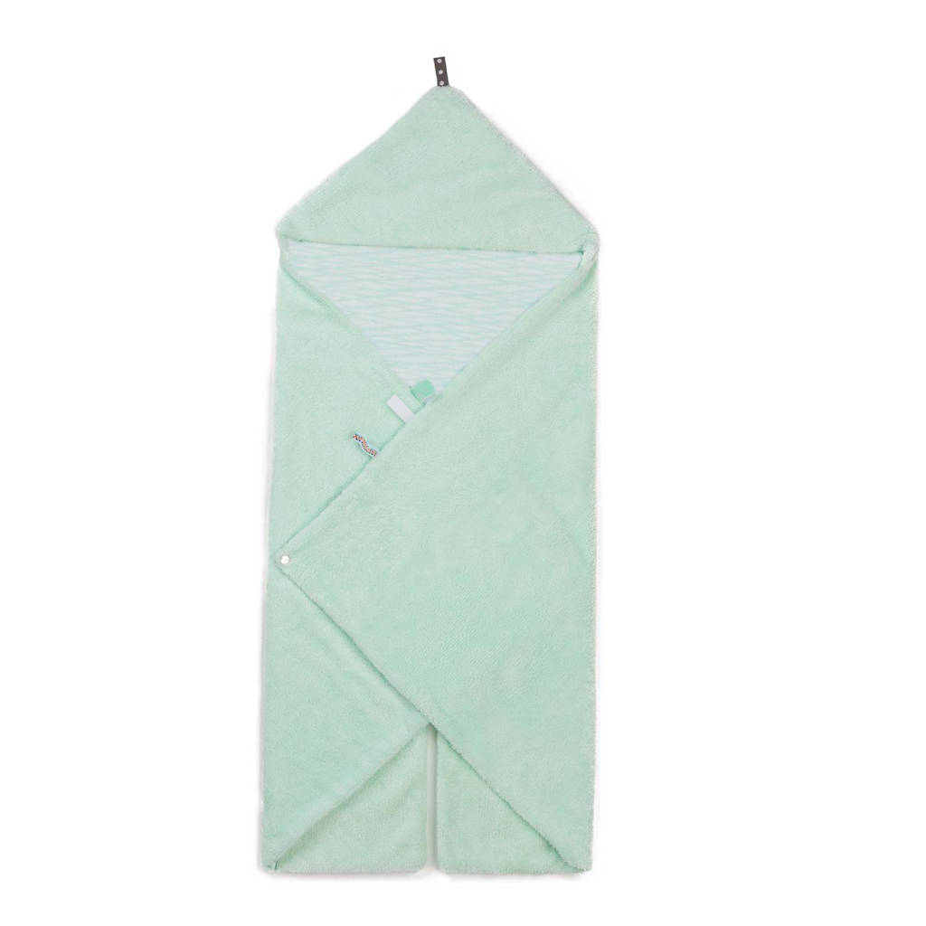 Snoozebaby Trendy Wrapping wikkeldeken misty green, Misty green