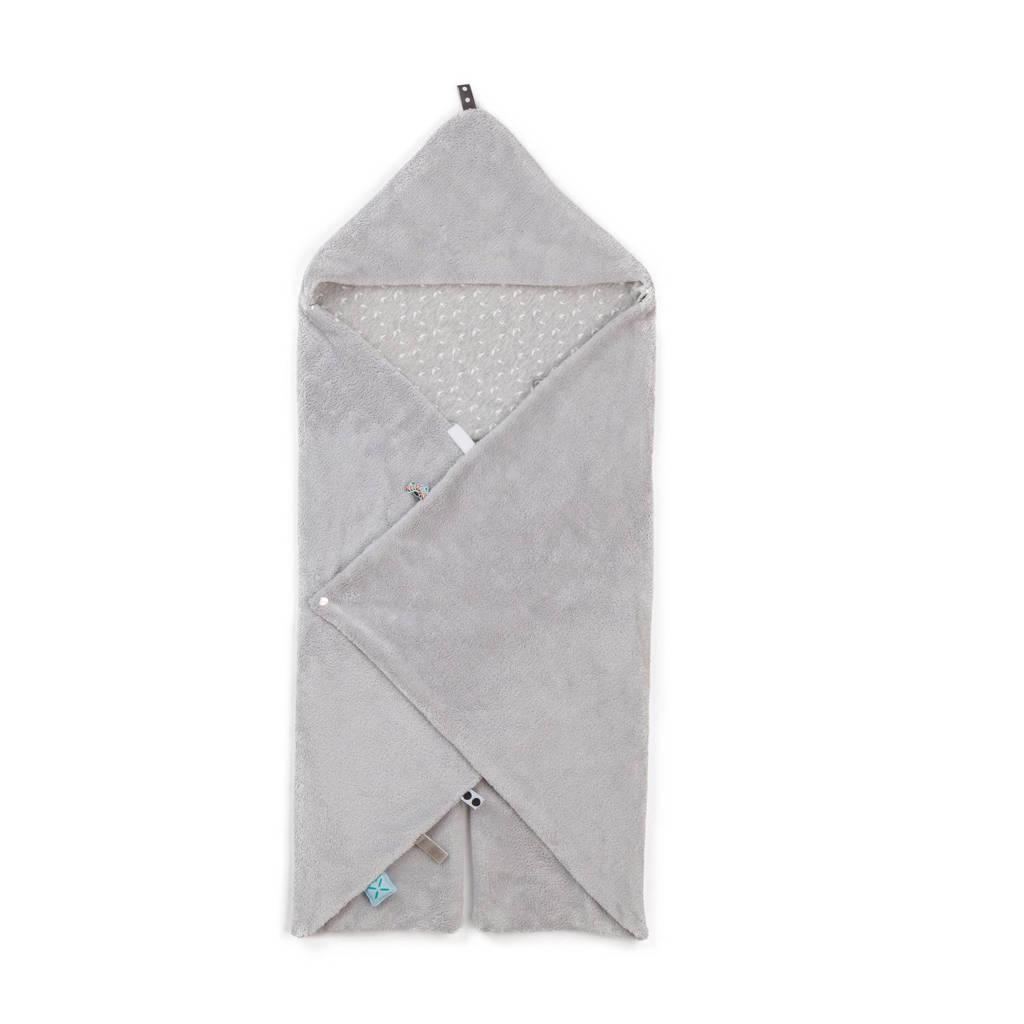 Snoozebaby Trendy Wrapping wikkeldeken lovely grey, Lovely grey