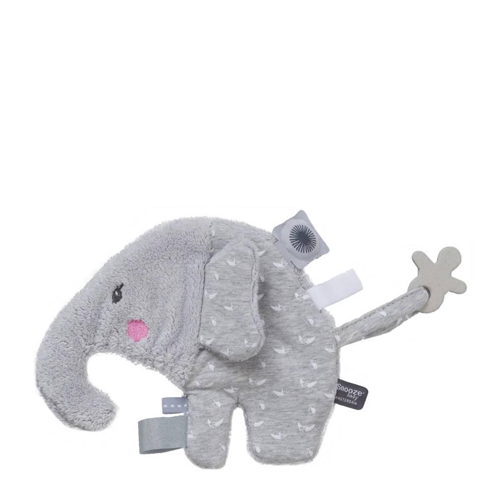 Snoozebaby Elly Elephant lovely grey knuffel 16.5 cm