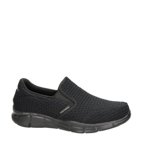 Skechers slip-on sneakers zwart
