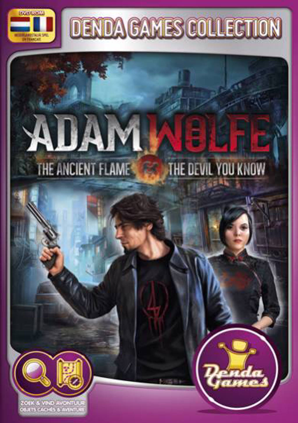Adam Wolfe - The ancient flame & The devil you know (PC)