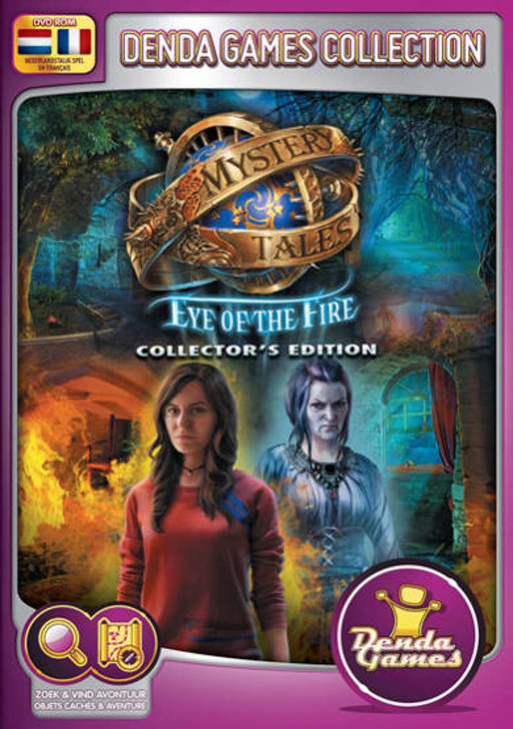 Mystery tales - Eye of the fire (Collectors edition)  (PC)