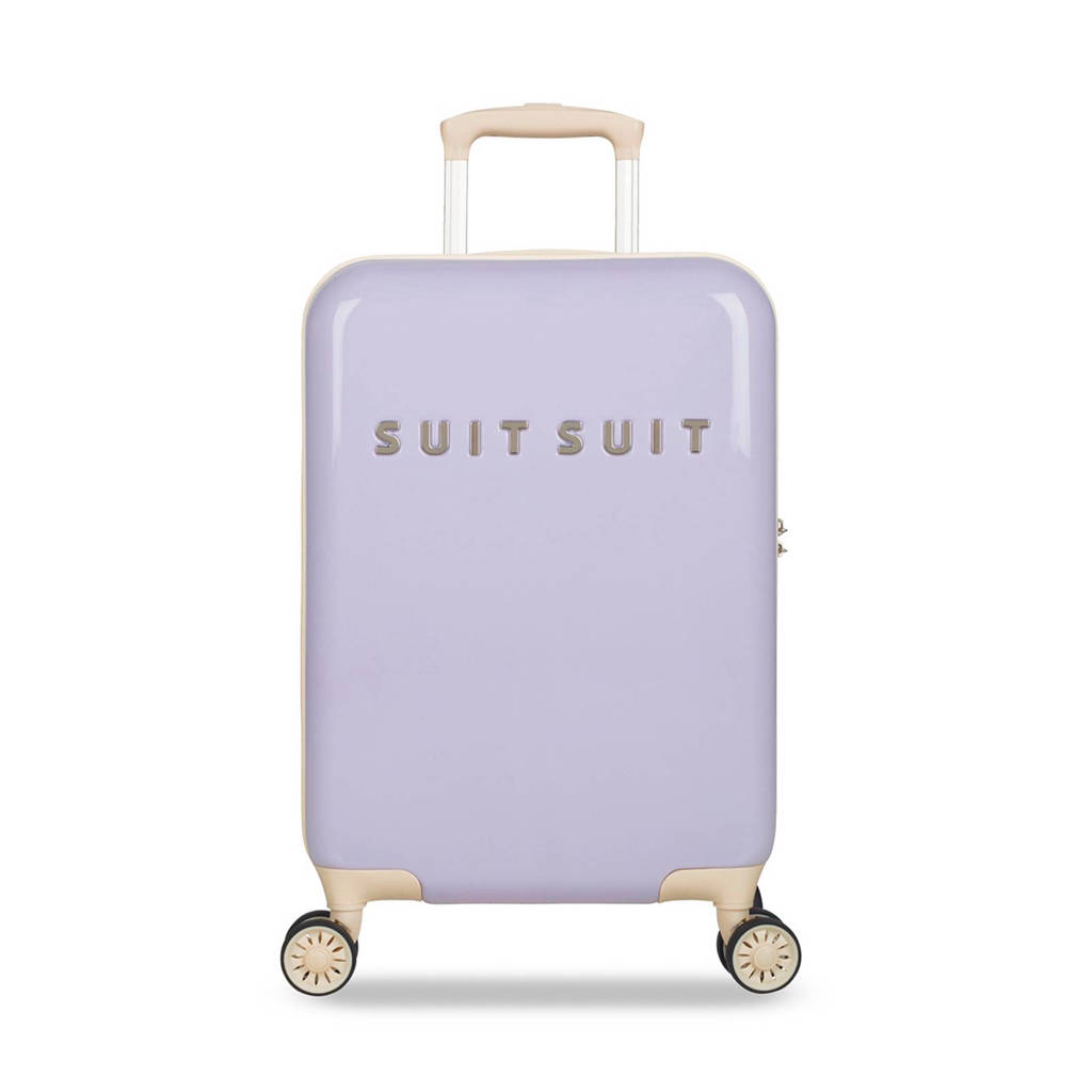 Suitsuit Fabulous Fifties koffer (55 cm), 55x35x20, Paars