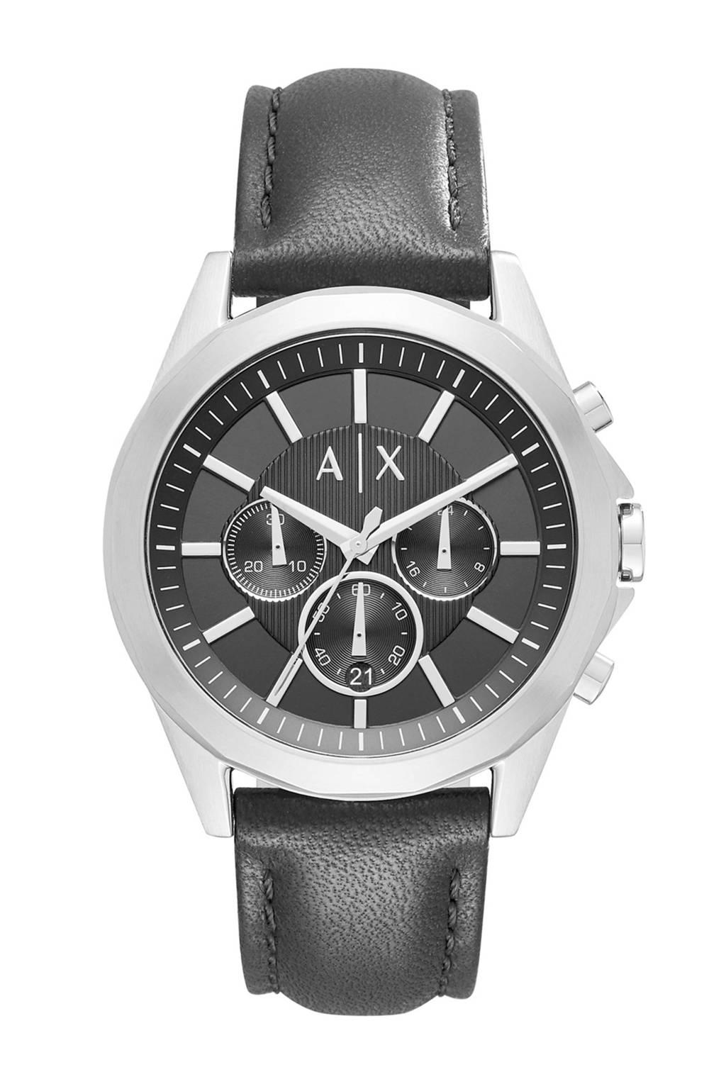 Armani Exchange chronograaf AX2604, Zwart/zilver