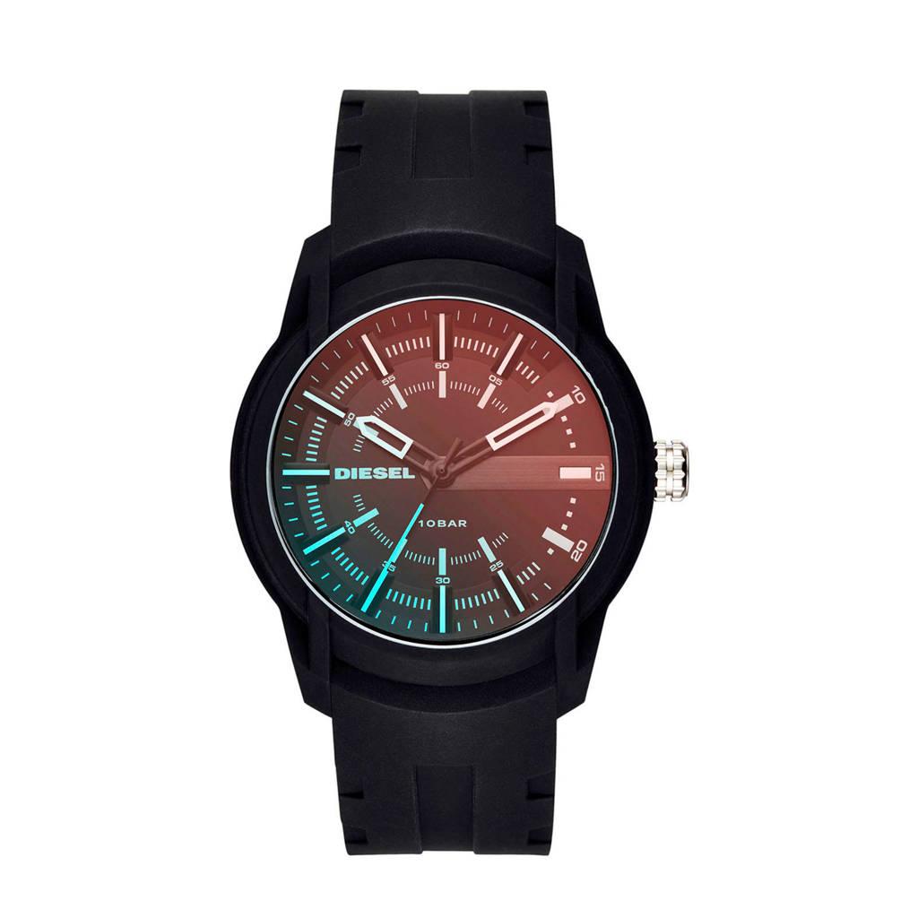 Diesel Armbar Silicone Heren Horloge DZ1819, Blauw